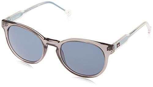 Tommy Hilfiger Unisex-Kinder TH 1426/S 8F Y60 48 Sonnenbrille, Grau (Grey Blu/Blu)