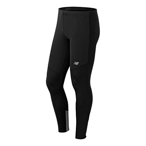 New Balance Men's Windblocker Tight, Black 15, S