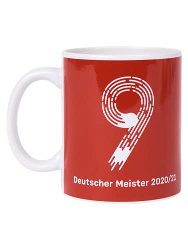 FC Bayern München Tasse Kaffeetasse Deutscher Meister 2021 FCB