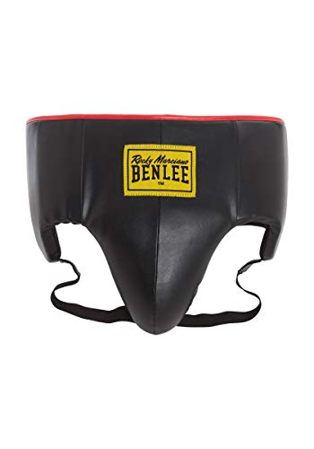 BENLEE Rocky Marciano Unisex – Erwachsene Lucca Artificial Leather Groinguard, Black, M