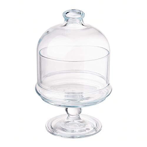 Pasabahce 96386 Mini Patisserie mit Haube, Höhe ca. 19 cm, aus Glas