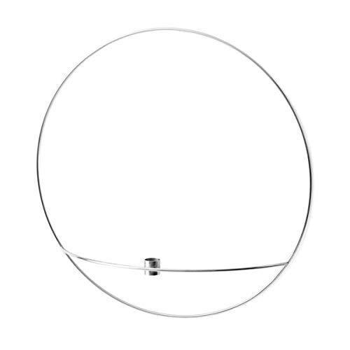 Menu - POV Circle Kerzenhalter, L/Silber