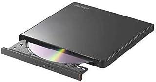 ! BUFFALO ポータブルDVD/CDドライブ USB2.0規格(USB3.0ポート搭載のパソコンでも利用可能) 国内メーカー Window/Mac ブラック