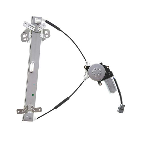 A-Premium Power Electric Window Regulator with Motor Replacement for Honda Accord 2003-2007 (Coupe 2-Door Only) Front Passenger Side