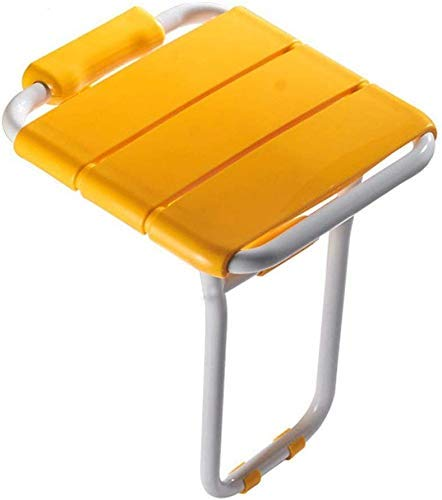 ZXY-NAN Bathroom Wheelchairs Folding Stool Wall Hanging Chair, Shower Bench Bathing Chair Carrying 200 Kg / 40.7 36 48cm (16 14.2 18.9 Inches)