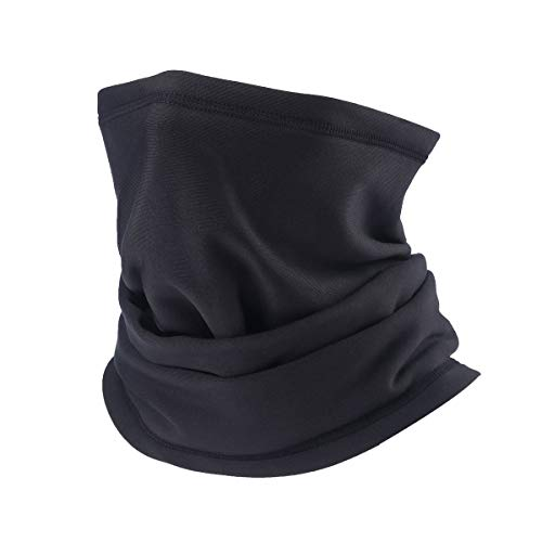 PRAVETTE Neck Warmer - Thick Balaclava Elastic Fleece Neck Gaiter Outdoor...