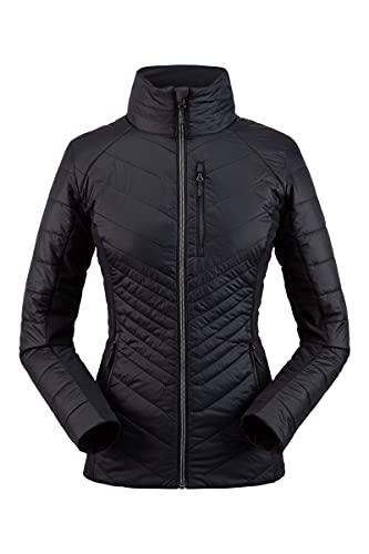 SPYDER 여성용 글래시 하이브리드 절연체 자켓 - 숙녀 풀 ZIP 절연 야외 의류