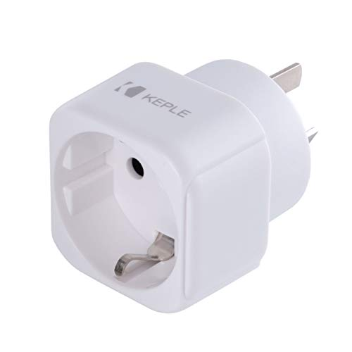 AUS Australia China Chinese New Zealand Adapter Plug Reisen Stecker Typ I zu EU Europe European Typ C E F Steckdose für Spain ES France Italy Italian IT Germany DE Denmark Dänemark Griechenland 3 Pin
