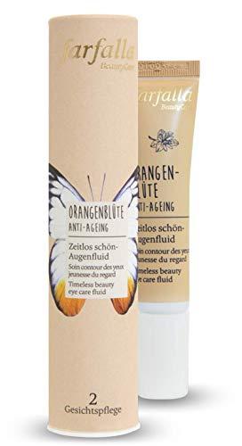 farfalla Orangenblüte AntiAgeing Augenfluid 100 zertifizierte Naturkosmetik, 15 milliliter