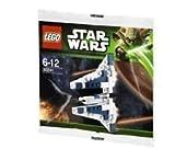 Lego Star Wars Mandalorian Fighter Poly Bag Set 30241 by Lego Toy (manual en inglés)