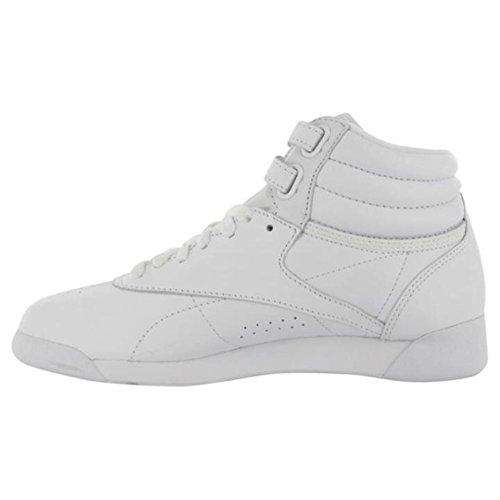 Damen Schuh Reebok FS Freestyle Hi Top Weiß Leder EUR 38.5