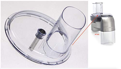 Kenwood Impastatrice - Coperchio per l'accessorio tagliaverdure a dischi AT340