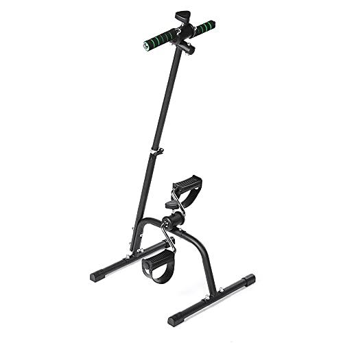 Pedal Ejercitora de bicicletas, Pierna de la mano portátil y el ciclo del escritorio del vendedor de la rodilla, el equipo de aptitud ajustable, la máquina plegable de entrenamiento corporal total,