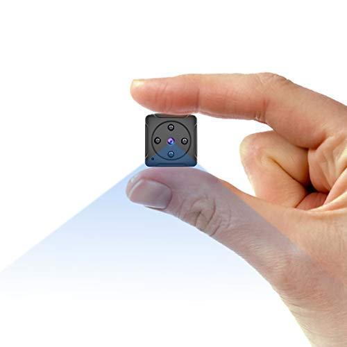 Hidden Camera Mini Spy Camera Nanny Cam- MHDYT Portable Small Video Camera 1080P Body Cam Wireless...