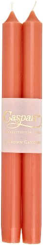 Caspari 10-inch Taper Unscented Candles, Set of 2, Sp