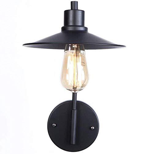 Lámpara de Pared Vintage E27 Umbrella Shade Aplique de Pared Ediso Industria Moderna Arte de Hierro Aplique de Pared Comedor Estudio Piso Loft