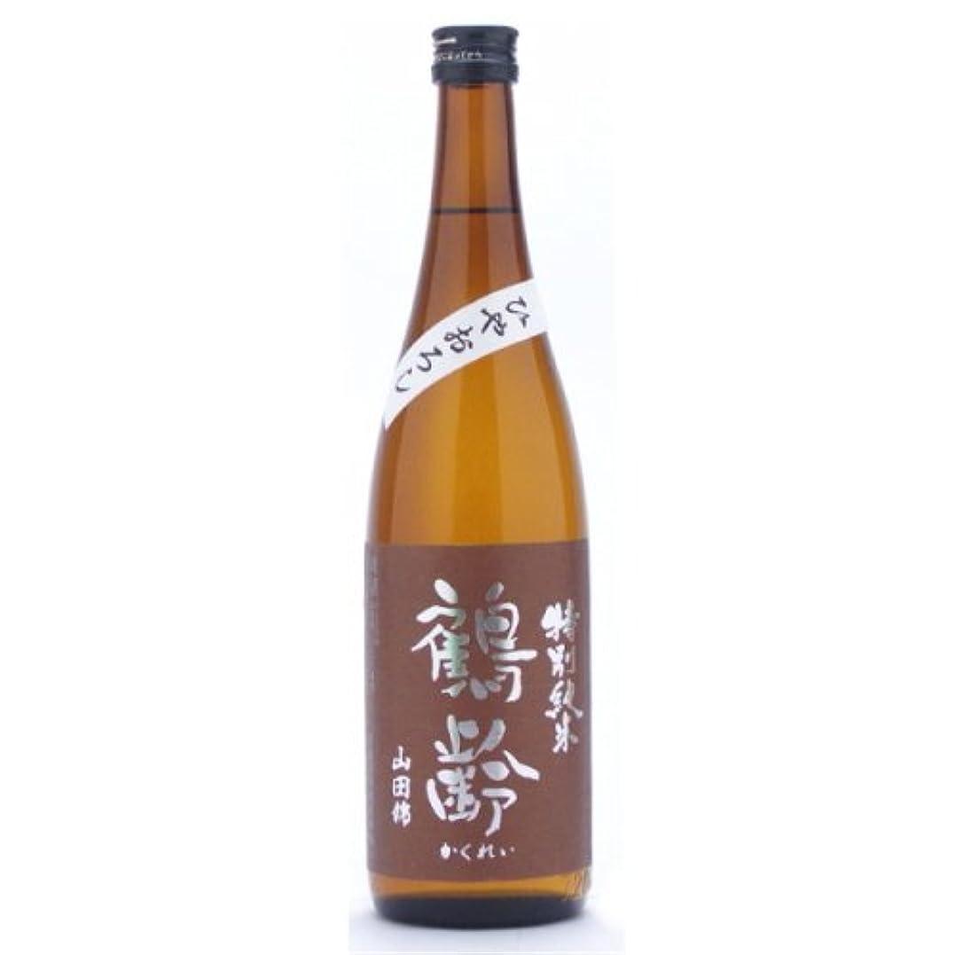 ピケドループ代表する鶴齢 特別純米山田錦ひやおろし720ml
