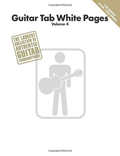 Guitar Tab White Pages: Volume 4