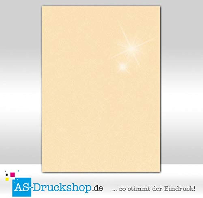 Farbiges Papier Schreibpapier - Candle light light light metallic   50 Blatt DIN A4   250 g-Papier B07JF63BY1  | Die Königin Der Qualität  a5588c