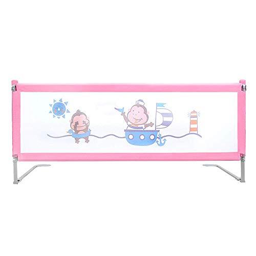 WYJW Sicherheits-Babyschutzgitter 180 / 200cm Bettzaun für Baby - Kinder Bettgitter Sicherheitshöhe (61cm ~ 83cm), Anti-Fall Bettschutzgitter für Kleinkinder Baby und Kinder