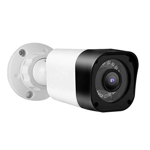 Bradoner Buena 1080p HD inalámbrico for Exteriores Smart Home cámara de visión Nocturna con, Impermeable Bala analógico CCTV DVR de cámaras de Seguridad TVI/AHD/CVI/CVBS IP66 (1080P)