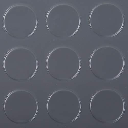 G-Floor Coin 10'x24' Garage Floor Mat in Slate Grey