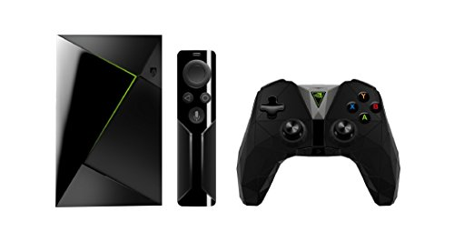 Nvidia SHIELD TV con mando a distancia y control, Negro