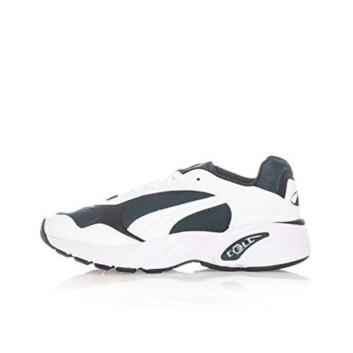 PUMA Cell Viper, Zapatillas de Running Unisex Adulto, Blanco White/Ponderosa Pine, 38 EU