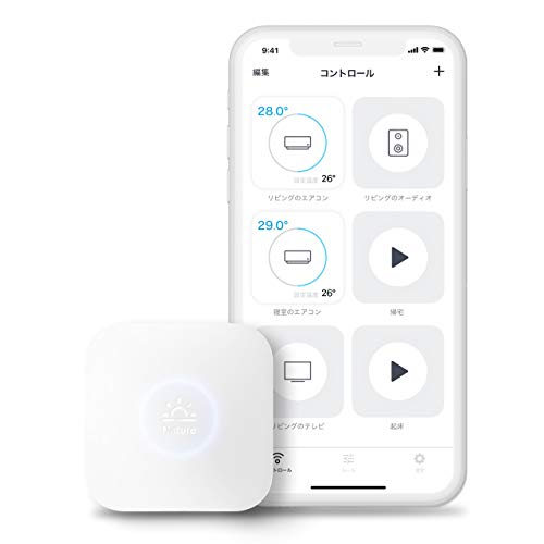 Nature スマートリモコン Nature Remo mini Remo-2W1