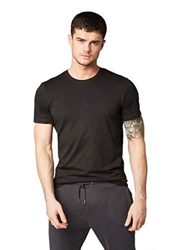 TOM TAILOR Herren T-Shirts/Tops T-Shirt im Doppelpack Black,S