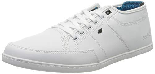 Boxfresh Herren Sparko Sneaker, Weiß (White/White 288), 43 EU