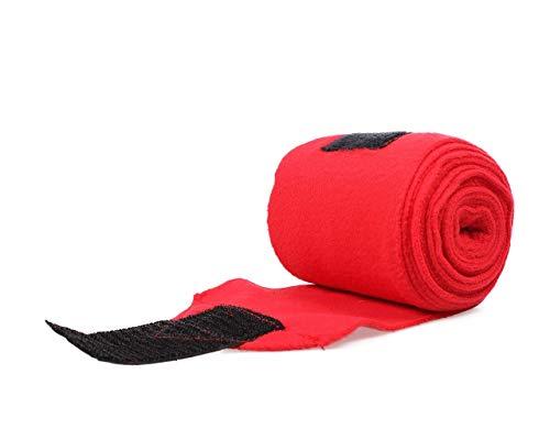 Arbo-Inox Fleecebandagen Bandagen 4 Stück 7 Farben (rot)