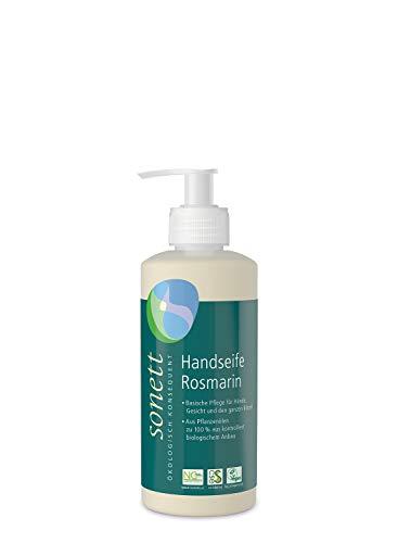 Handseife Rosmarin: Basische Pflege für Hände, Gesicht und den ganzen Körper, 300 ml