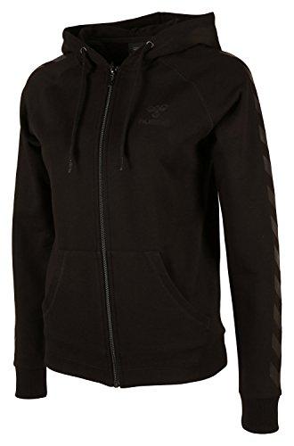 Hummel Damen Sweatshirt Classic Bee Womens Zip Hoodie, Black, XS