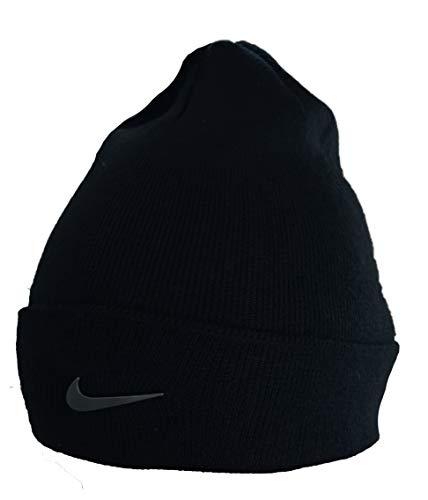 Nike Unisex Beanie Metal Swoosh Beanie Hat Mütze schwarz