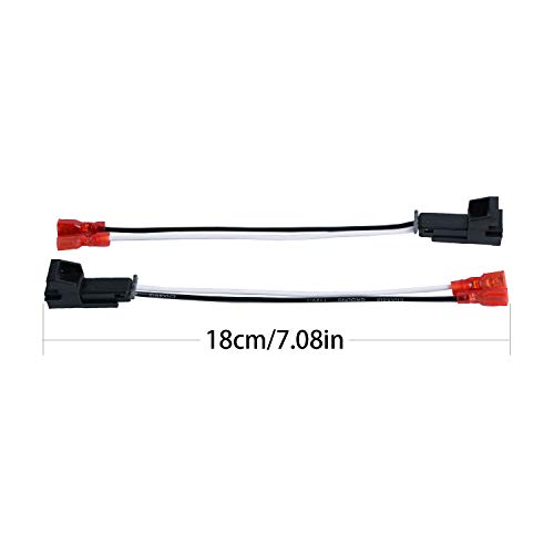 HSTECH 72-4568 2 Pairs (4 Pack) Speaker Harness for Selected General Motor Vehicles Total Adapters