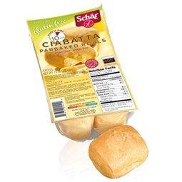 Schar's Gluten Free Ciabatta Rolls - Case of 6