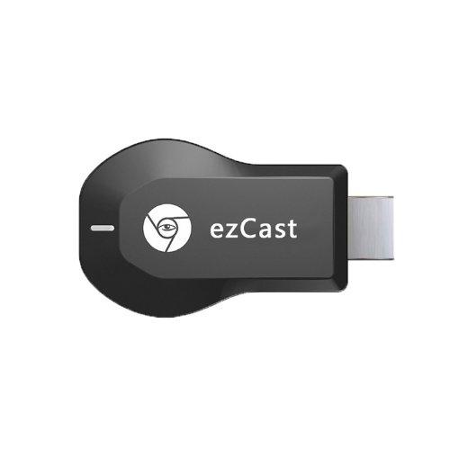 EZCast / Miracastは/エアプレイ/ DLNA /デバイスでの大画面で端末情報を楽しみましょう。家族で一緒にテレビで容易にプレゼンテーション、記念写真、映画を見て、記念のビデオを参照してください、のは、ゲームをプレイしましょう! 日本語説明書付き