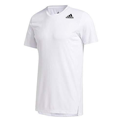 adidas TRG tee H.RDY Camiseta, Hombre, Blanco, M