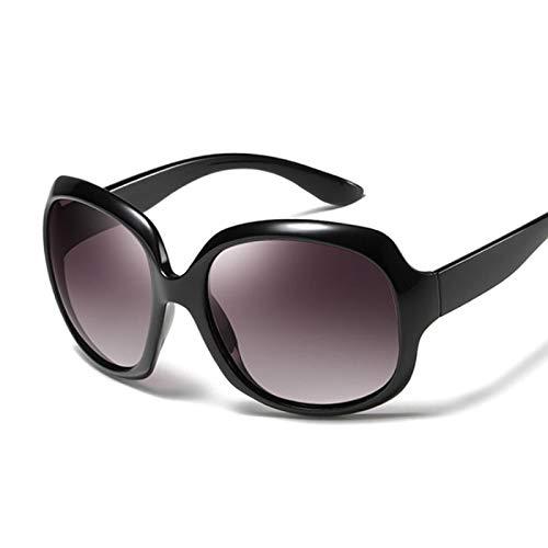 Sunglasses Gafas de Sol de Moda Gafas De Sol Cuadradas Elegantes Ovaladas para Mujer, Gafas De Sol De Marca De Lujo para
