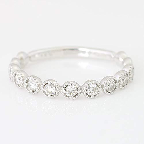 [ココカル]cococaru ダイヤモンド リング プラチナ Pt900 指輪 11号 天然 ダイヤ ハーフエタニティ 日本製
