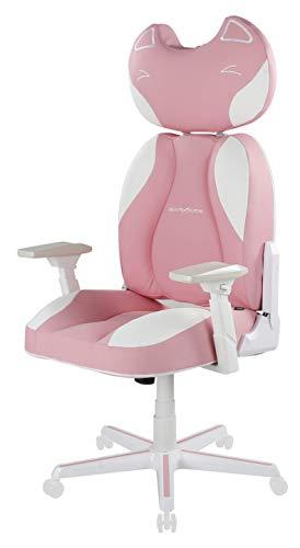 DXRacer DC/JA001/PW Female Anchor Gaming Chair Pink