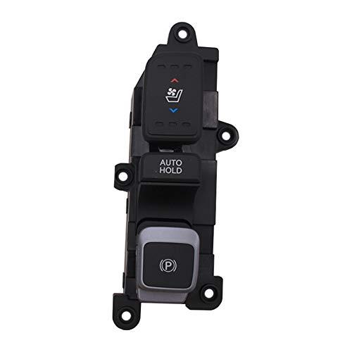ZHIXIANG Ajuste para el botón de ventilación del Asiento del Interruptor de calefacción del Asiento de Hyundai Santa Fe. (Color : Red)
