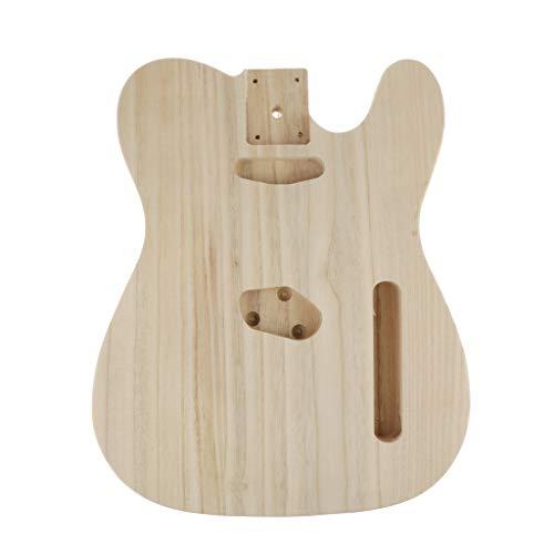 Almencla Gitarrenbau Body Korpus E-Gitarren E-Bass Body Korpus, E-Gitarre DIY Bausatz