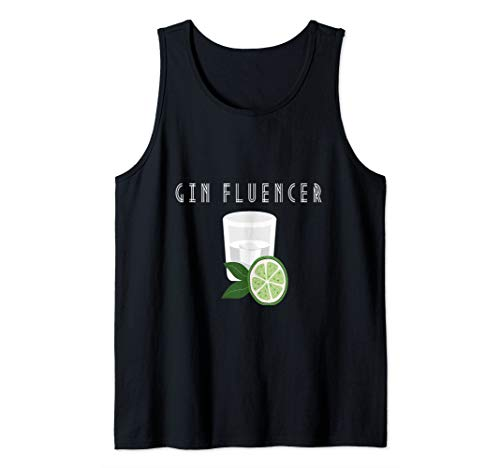 Gin lover |Ginfluencer Cocktail Gin Tonic Wacholder Schnaps Tank Top