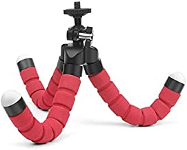 Live Tripods - Multifunction Flexible Octopus Sponge Tripod With Holder For Oukitel U7 Max U16 MAx C5 Pro C5 U22 K6000 Plus C8 K3 K4000 Plus (Golden)
