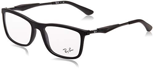Ray-Ban Herren 0rx 7029 2077 55 Brillengestell, Schwarz (Black)