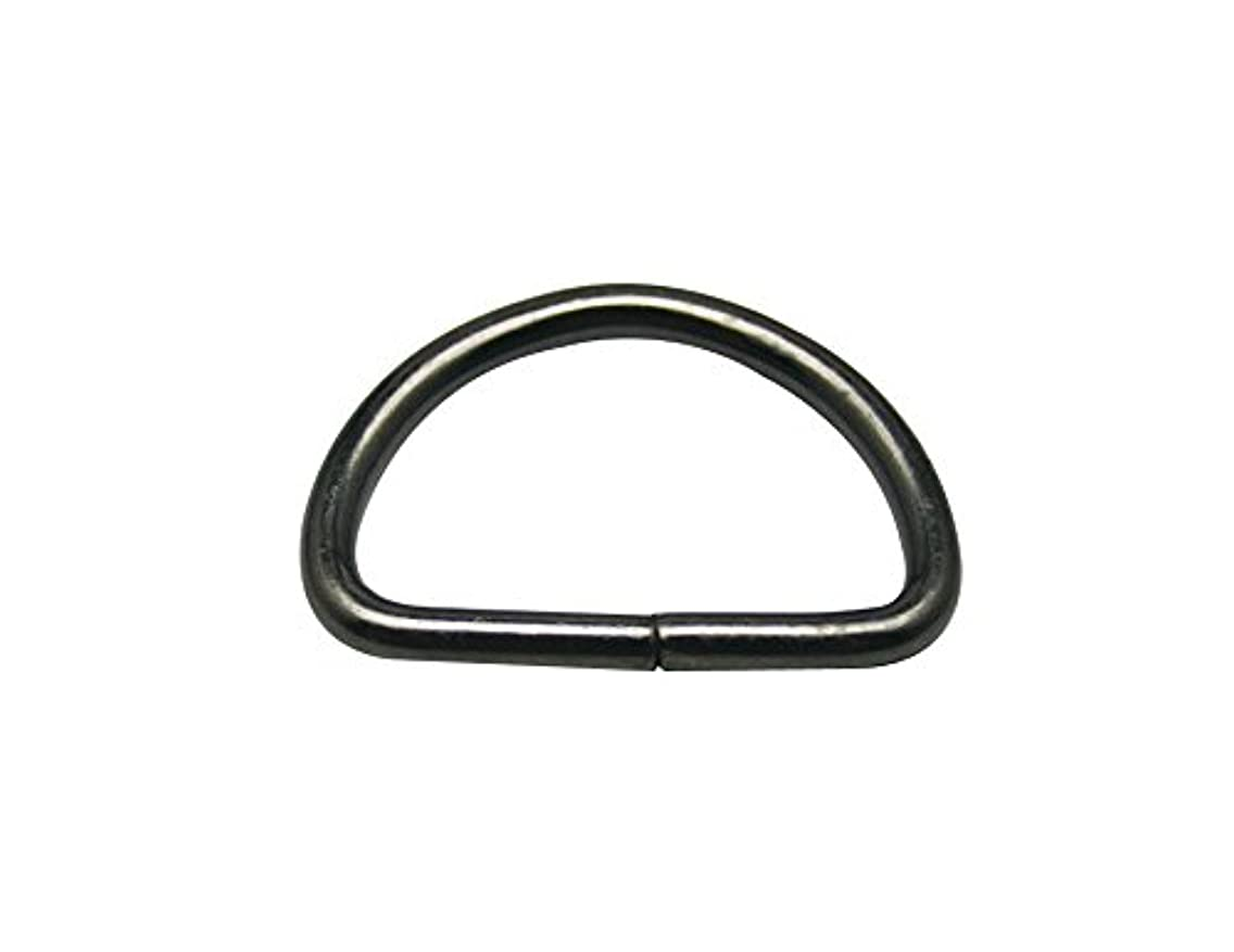 Generic Metal Gun Black D Ring Buckle 1