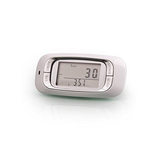 Incutex stappenteller, caloriemeter, pedometer met LCD-display, stappenteller, stappenteller