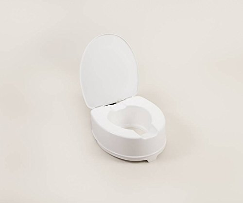 Atlantis erh�hter WC-Sitz mit oder ohne Deckel (w�hlen Sie Ihre Gr��e)